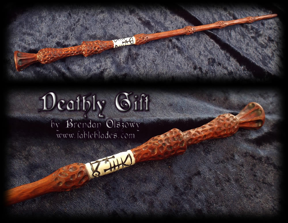 Deathly gift elder wand by brendan olszowy by for Real elder wand