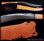 Nell - Tiger themed Panabas (Filipino Sword)