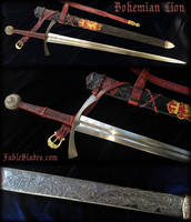 Bohemian Lion Sword by Fable Blades by Fableblades