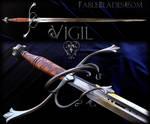 Vigil: Custom Side Sword by Fable Blades