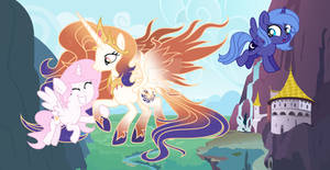 MLP Mother And Two Daughters Day