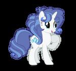 [MLP Next Gen] Sky With Blue Stone's Hair Vector