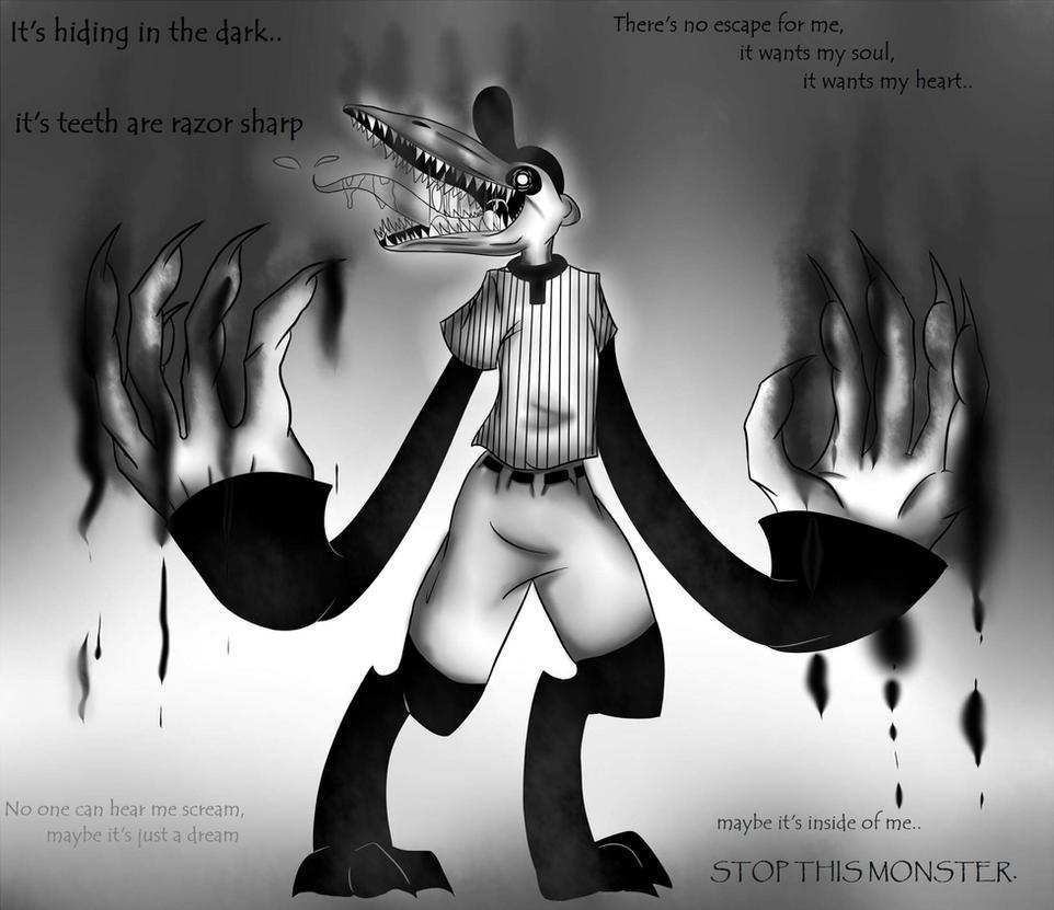 I feel like a Monster by SkitzOpheliac on DeviantArt