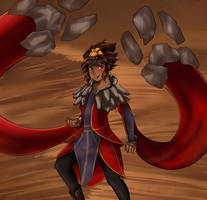 Taliyah the Stoneweaver by GrimmSkitz