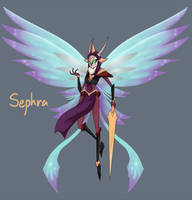 Red Angel Sephra by GrimmSkitz