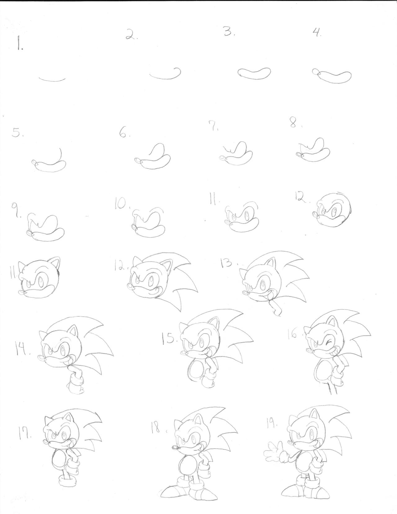 sonic the hedgehog drawing tutorial bigking keywords and pictures