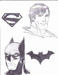 Man of Steel The Dark Knight by luiginotafraid
