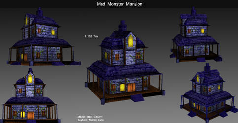 Mad Monster Mansion by xLithx