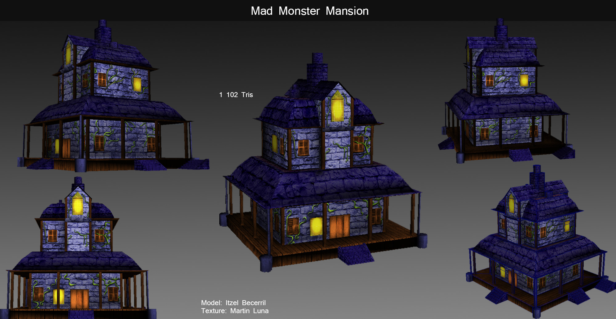 mad monster mansion by xlithx on deviantart