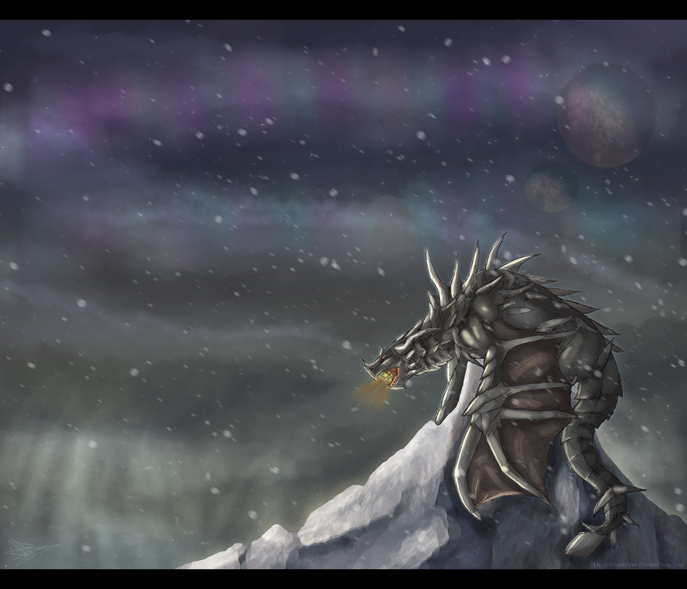 Alduin The World Eater by LikelyLupine