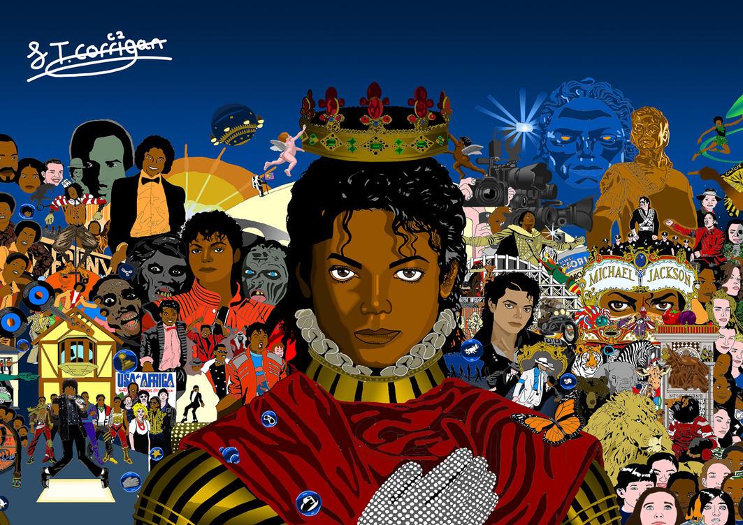 Michael Album Cover (Colour) by J-Corrigan-93