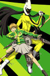 Persona 4: Chie and Tomoe