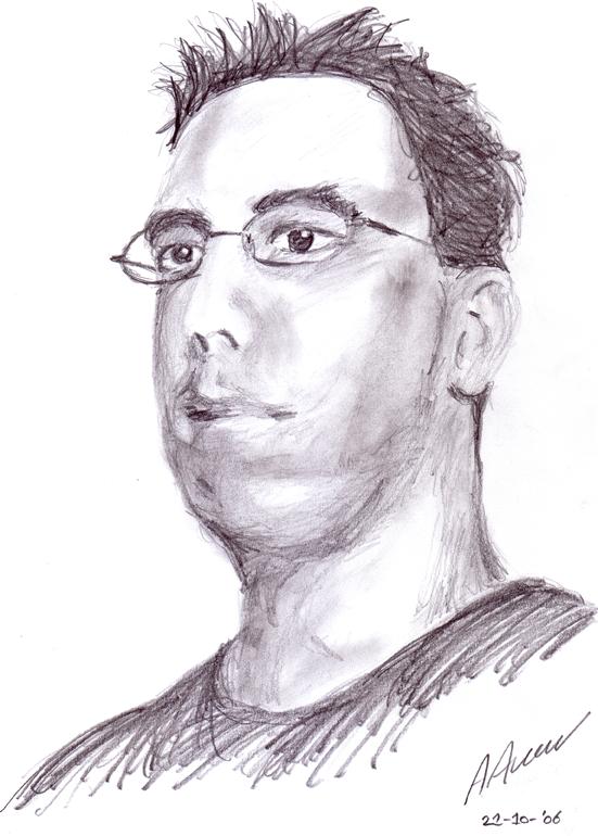 Pencil sketch by DizzyWeb