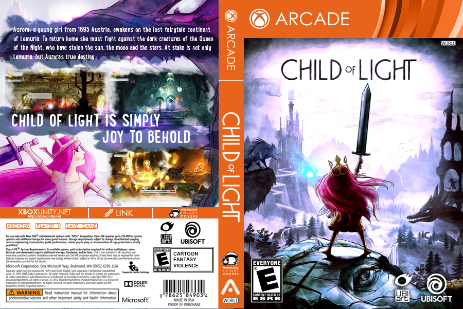 Child of Light RGH XBOX360 by mushroomstheknight on DeviantArt