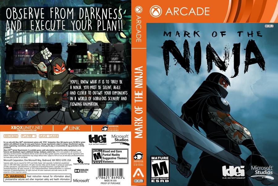 Mark Of The Ninja RGH XBOX360 by mushroomstheknight on