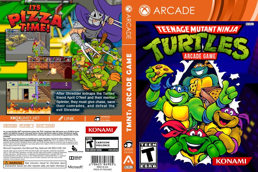 Teenage Muntant Ninja Turtles Arcade RGH XBOX360 by