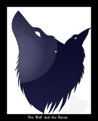 The Wolf and the Raven by TheWolfPack