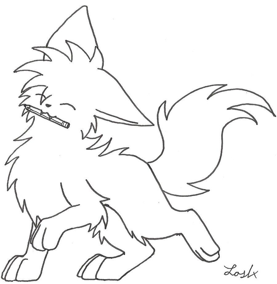 Chibi Wolf Base Chibi Wolf by