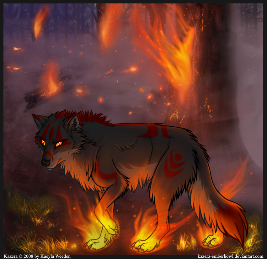 anime wolves favourites by ButtonLips on DeviantArt
