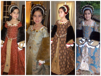 Child's Tudor Collection - Dresses and Accessories by PeacockandPeridot