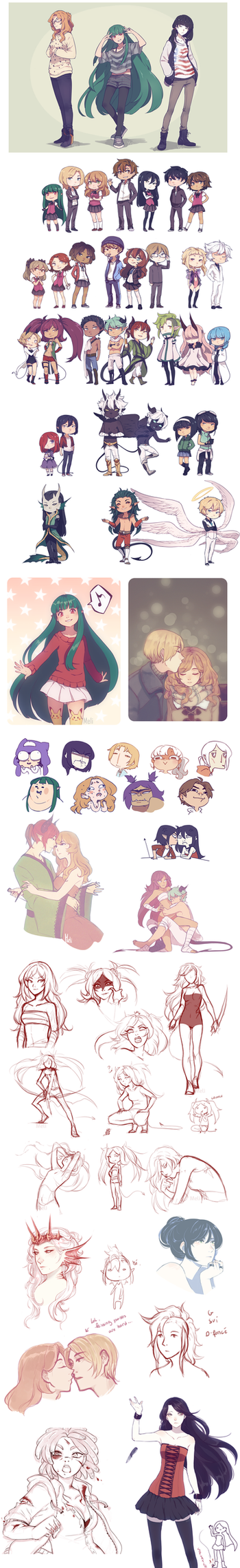 Sketchdump15 by Meli-Lusion