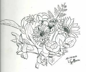 Bouquet de fleurs by lilas11