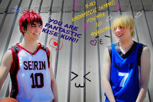 You're fantastic Kise-kun xD