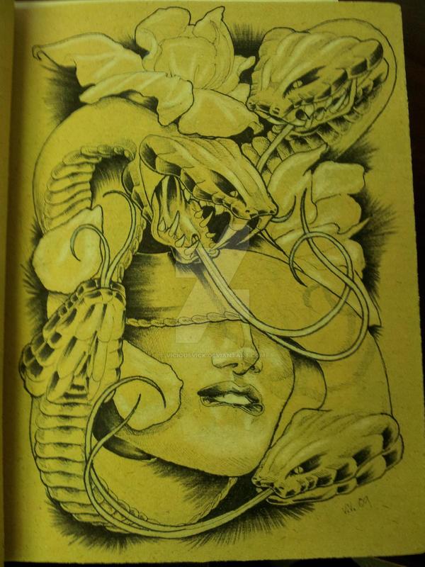 Medusa by viciousvick