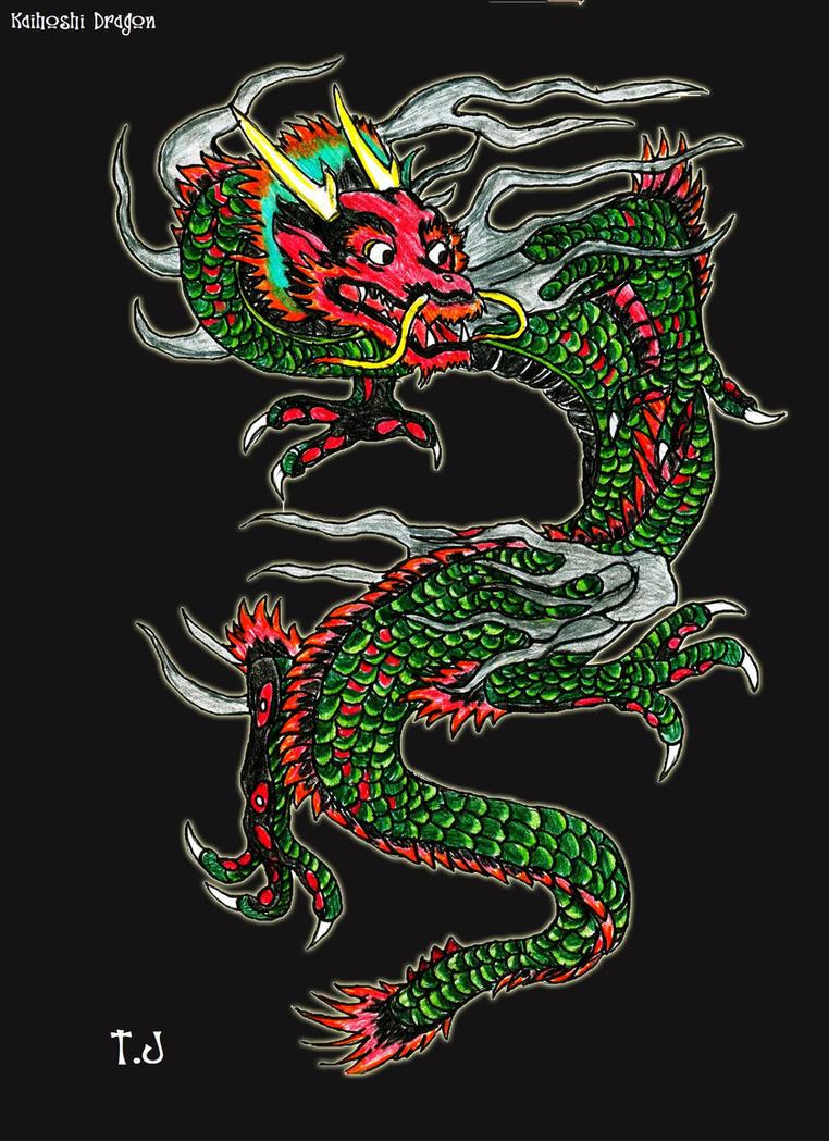 Kaihoshi- Chinese Earth Dragon by Silgan