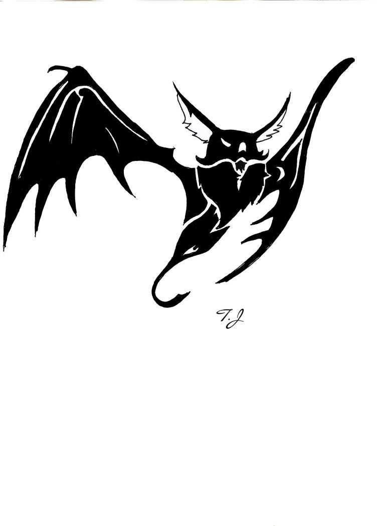 Cute Bat Tattoo Designs