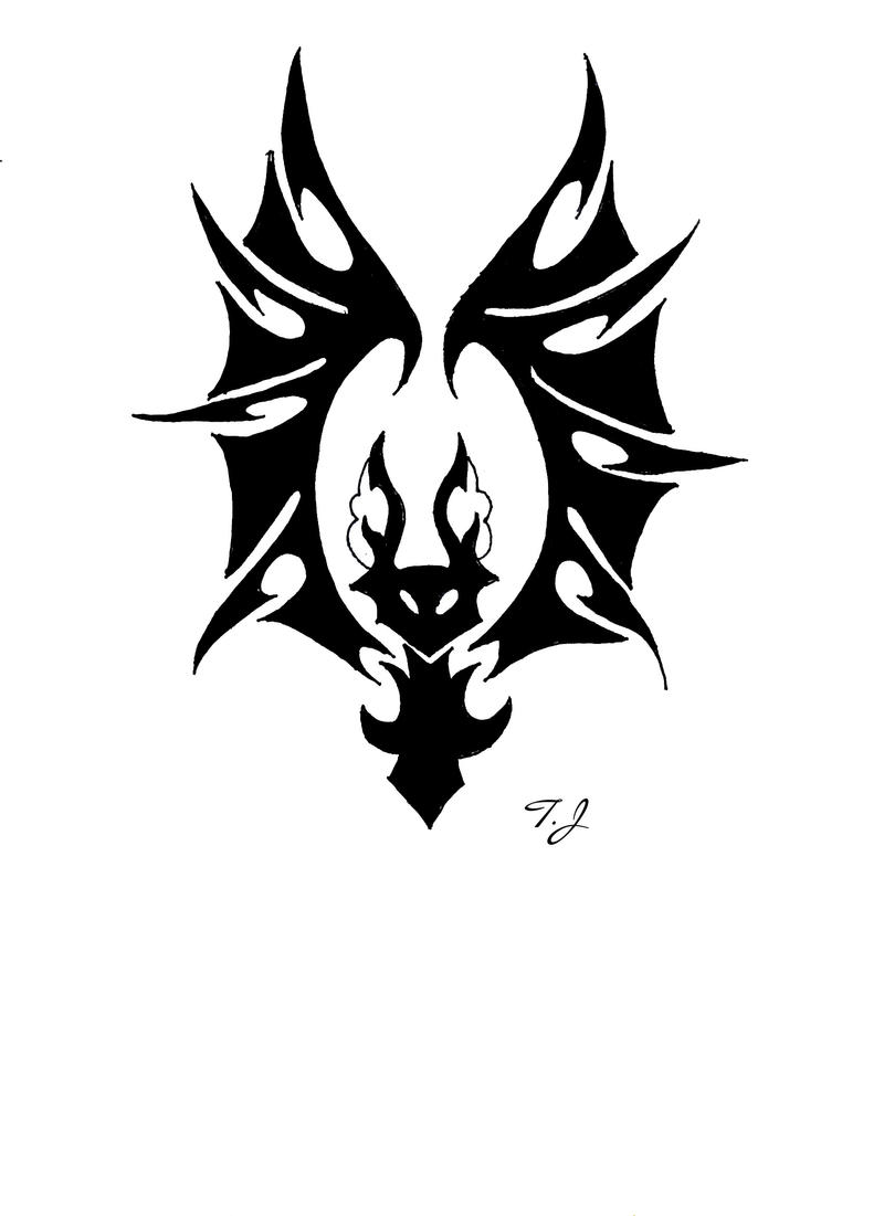 Bat Tribal by Silgan