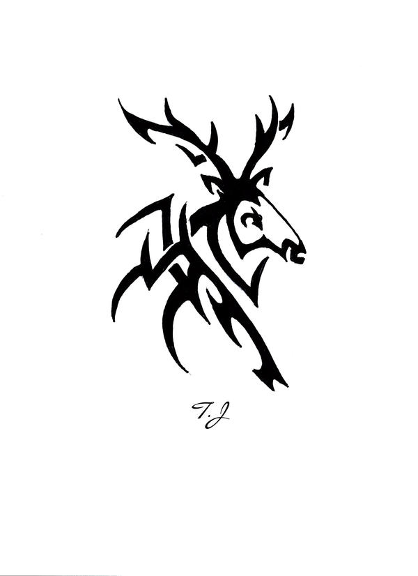 Black Buck Tribal by Silgan