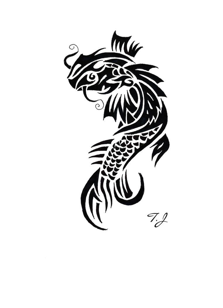 Koi Fish Tribal by Silgan