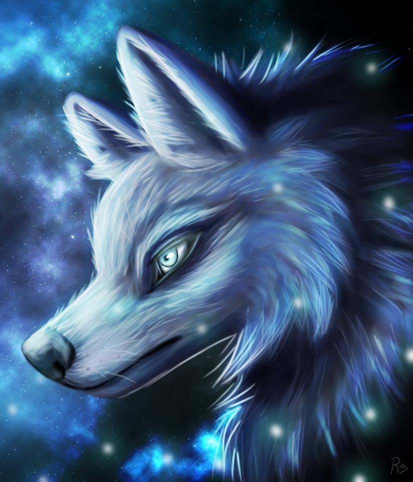 Galaxy Wolf By ImazArtz On DeviantArt