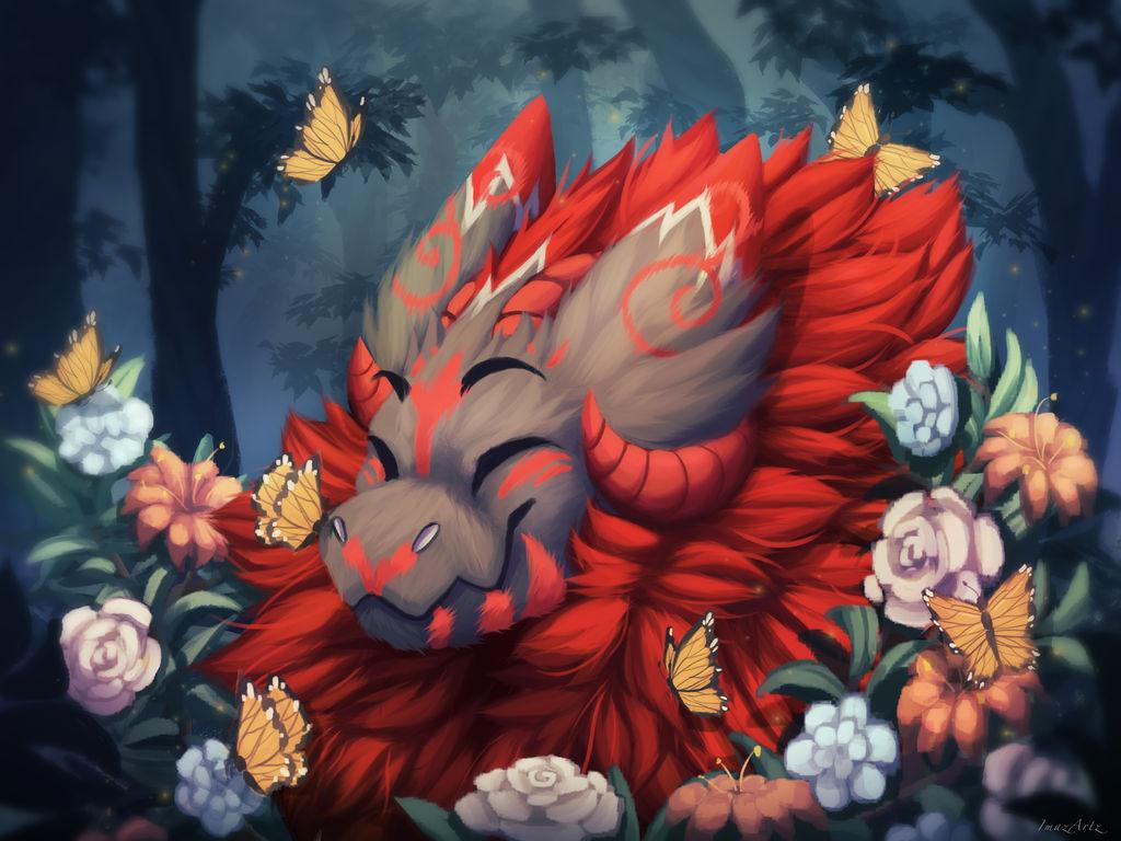 Big Friendly Beast by ImazArtz