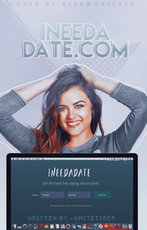 Ineedadate.com - wattpad cover by reeawhatever