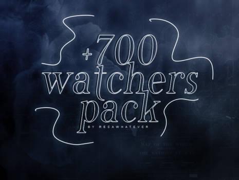 +700 WATCHERS PACK