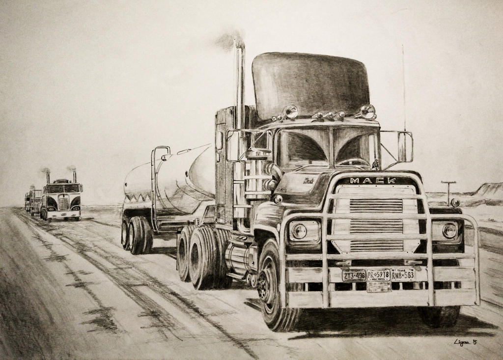 39 rubber duck 39 convoy drawing by darstrom on deviantart. Black Bedroom Furniture Sets. Home Design Ideas