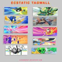 Ecstatic Tagwall by Ecstatic-ectsy