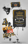 4 one act plays poster