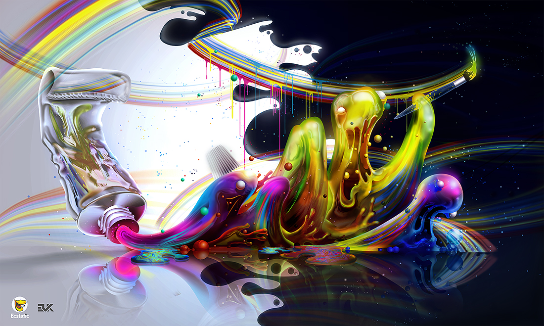 Acrylic by Ecstatic-ectsy