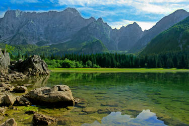 Fusine lake by sket88