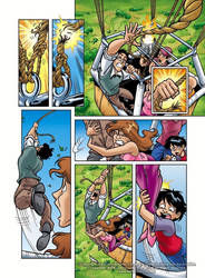 Eloria Comic Issue 1 Page