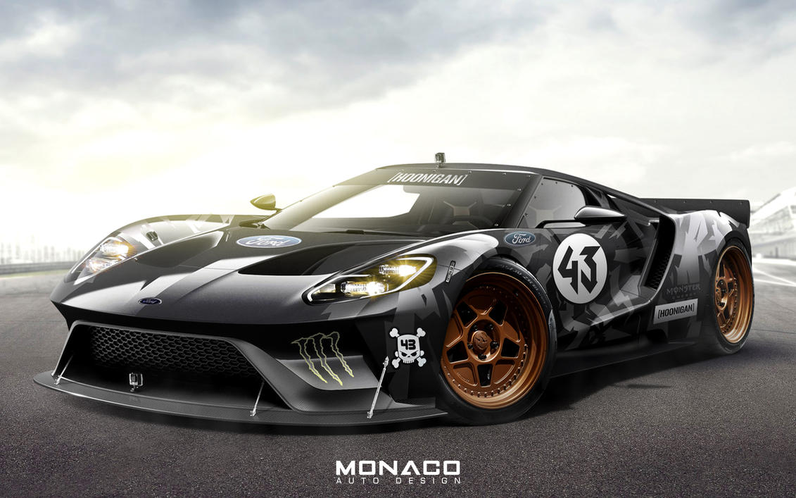 Ford Gt Concept Ken Block Livery By Monacoautodesign