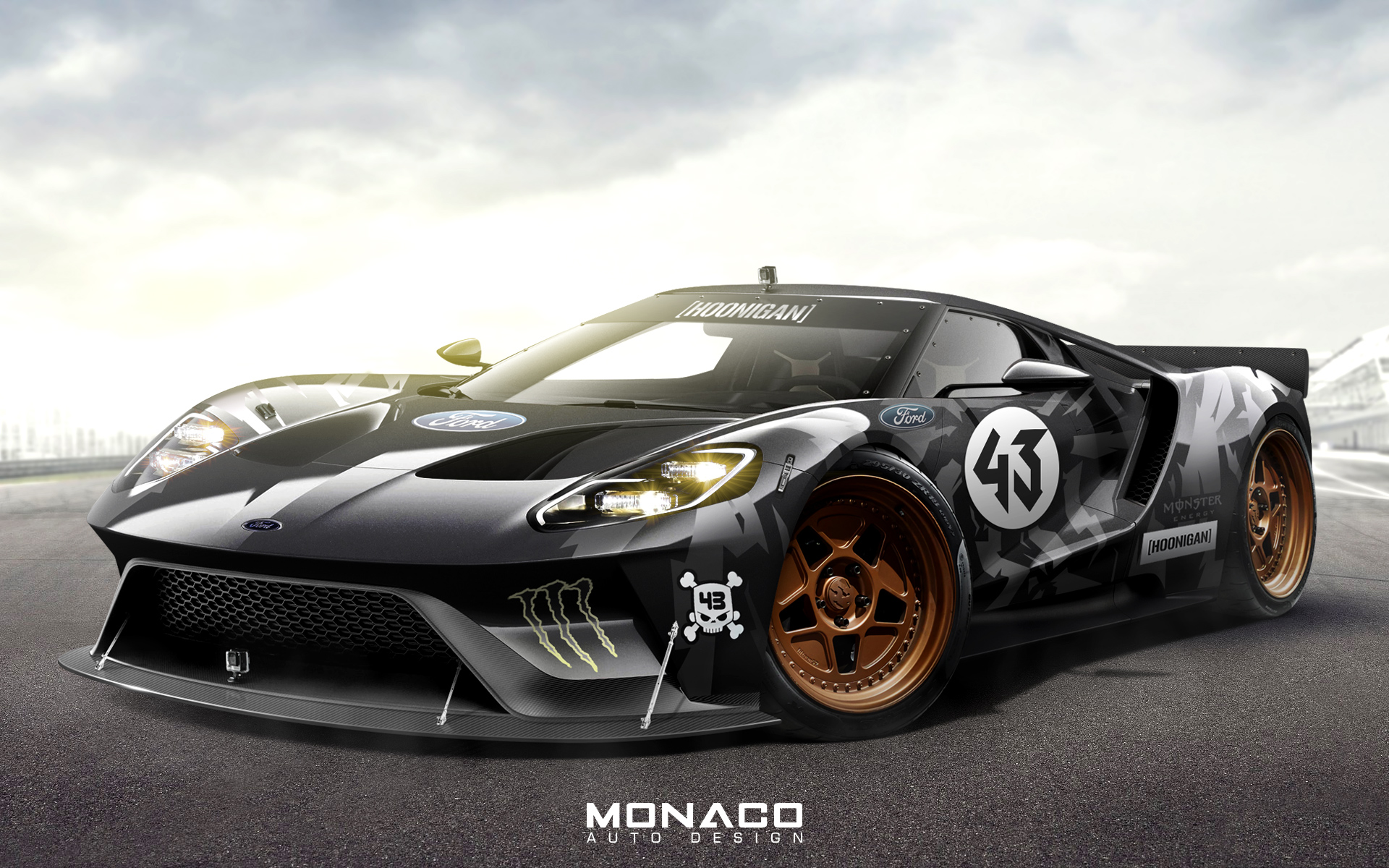 ford gt concept ken block livery by monacoautodesign on deviantart. Black Bedroom Furniture Sets. Home Design Ideas
