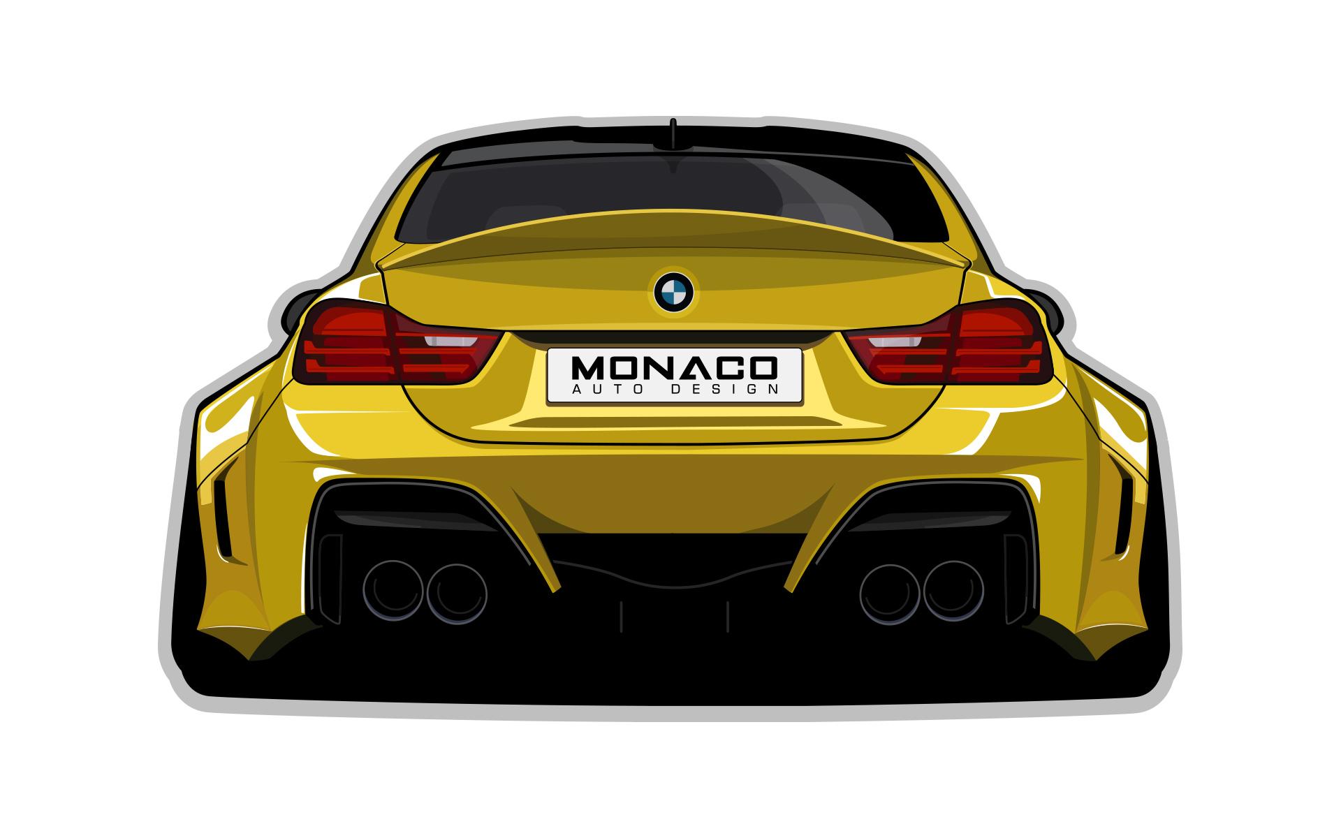 Vector Series Bmw M4 Widebody By Monacoautodesign On