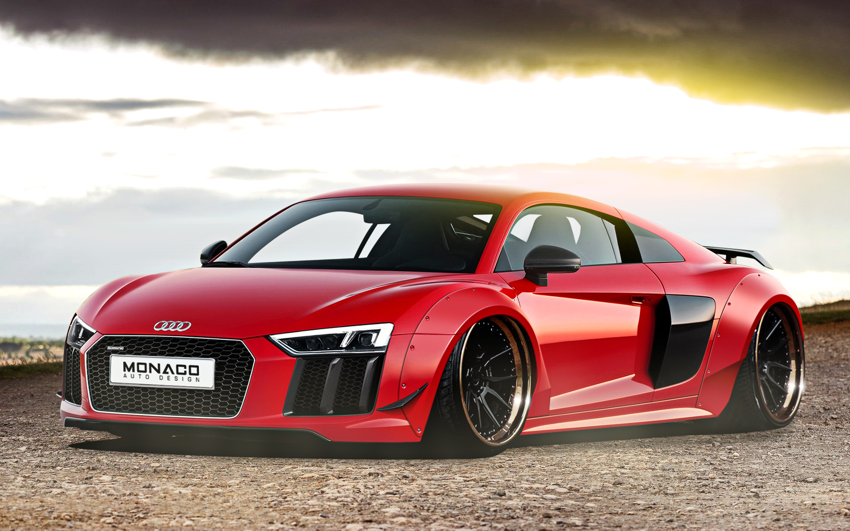 Audi R8 Widebody By Monacoautodesign On Deviantart