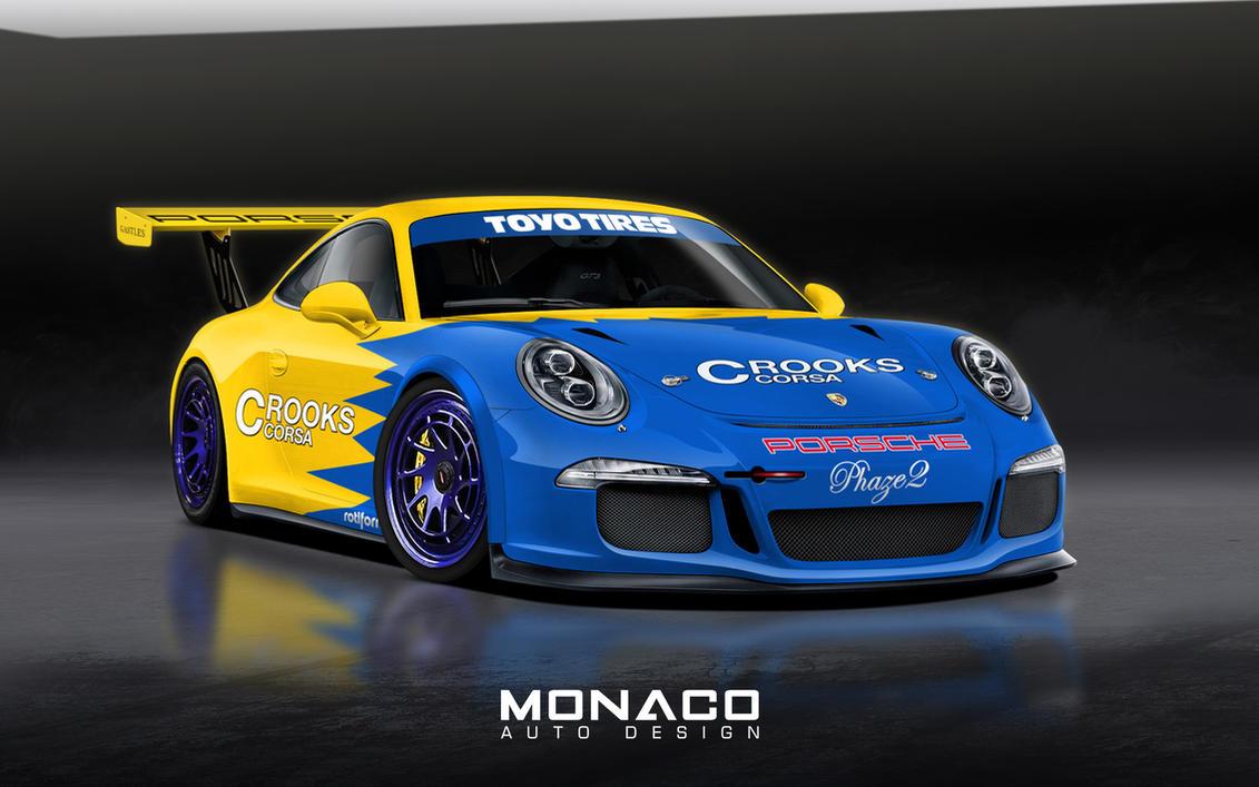 Darrens Porsche 911 GT3