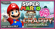 Anti Mario x MLP hater stamp by Airman-EXE