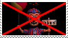 Anti Balloon Boy Stamp